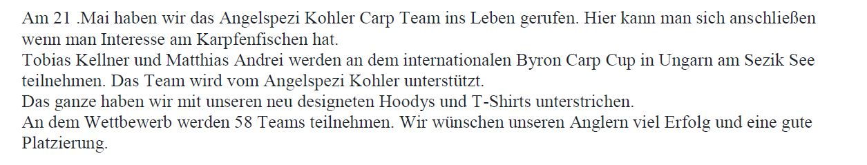 Carp team 2 text
